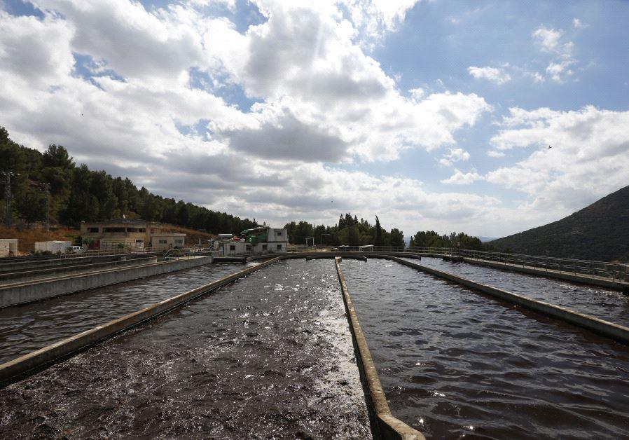 waste water sewage israel