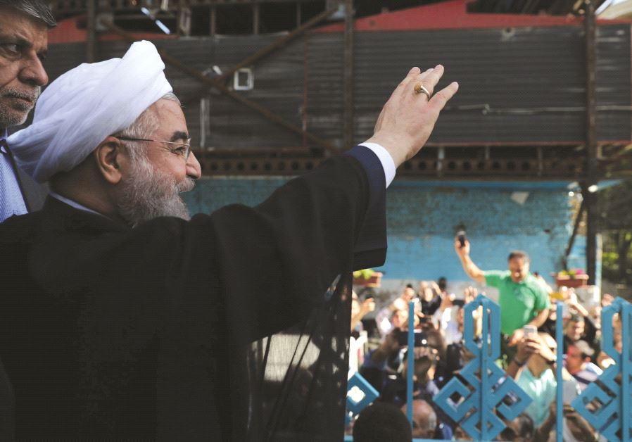Le président de la république islamique d'Iran, Hassan Rohani