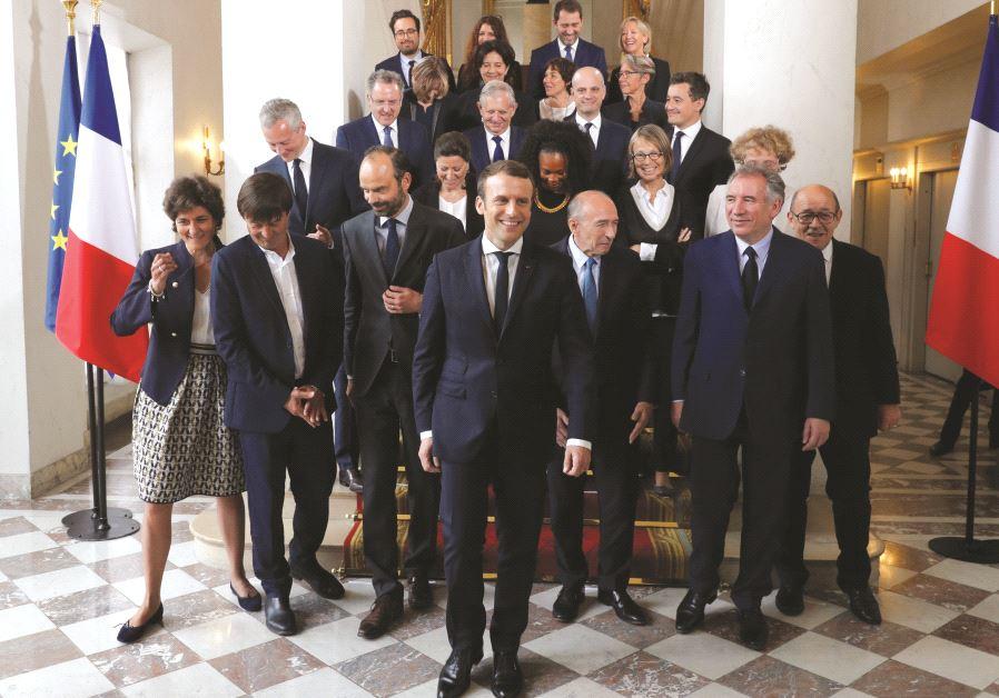 Emmanuel Macron et son gouvernement