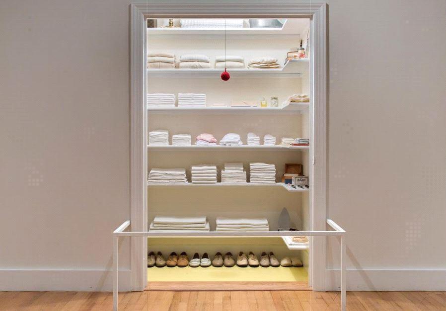 Sara Berman's closet.