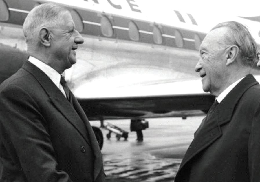Charles de Gaulle Konrad Adenauer