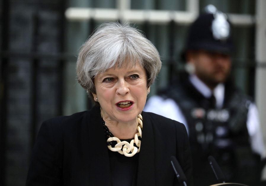British Prime Minister Theresa May (Reuters)