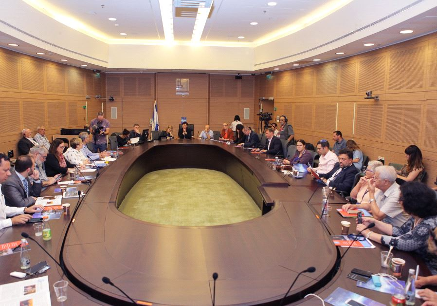 The Knesset Committee for Immigration, Absorption and Diaspora Affairs holds a meeting  to hail the