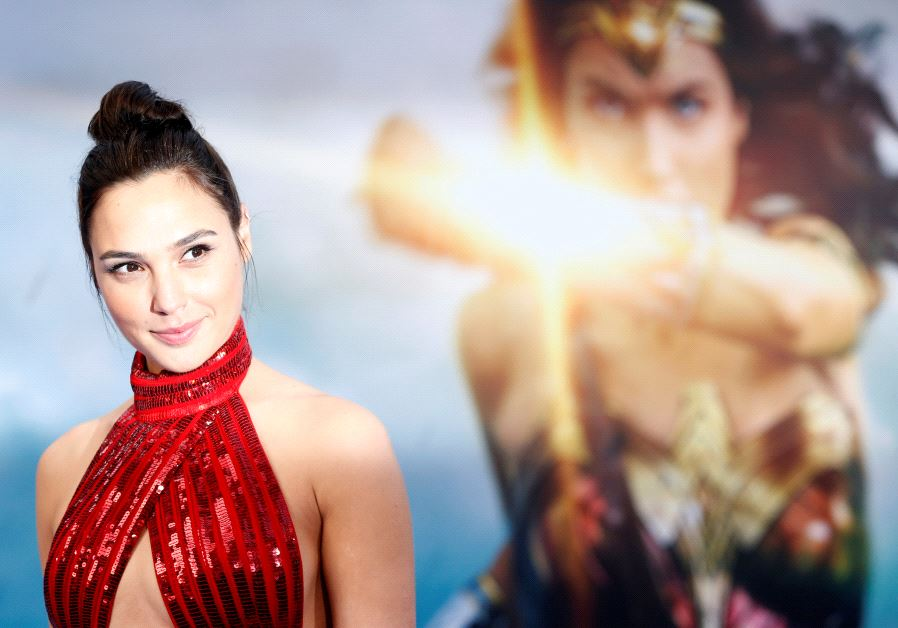 "Cast member Gal Gadot poses at the premiere of ""Wonder Woman"" in Los Angeles, California U.S., May 2"
