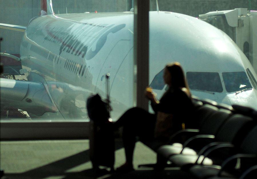 Qantas flight australia