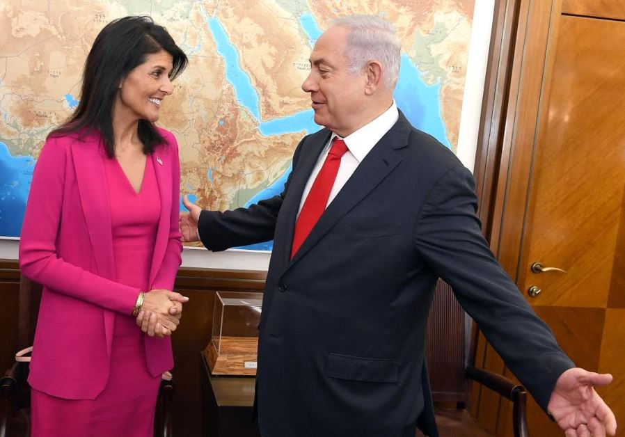 Netanyahu, Haley Discuss Unifil Mandate vs Hezbollah