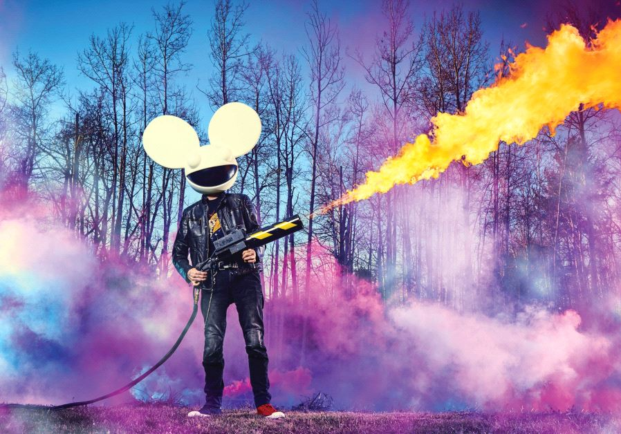 MASKED EDM hitmaker and celebrity DJ Deadmau5