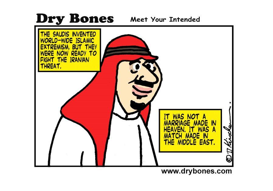 Dry Bones Cartoon June 7, 2017