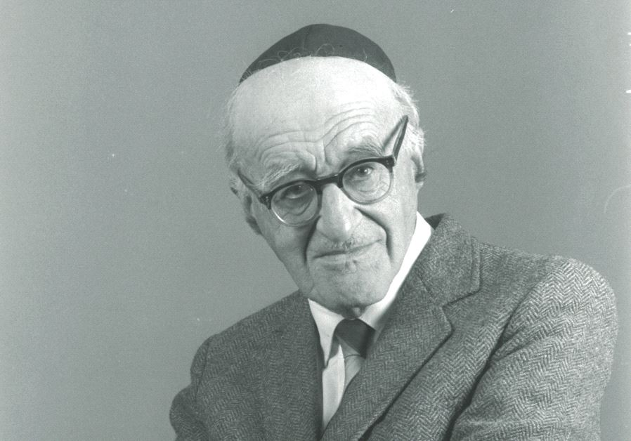 Prof. Yeshayahu Leibowitz