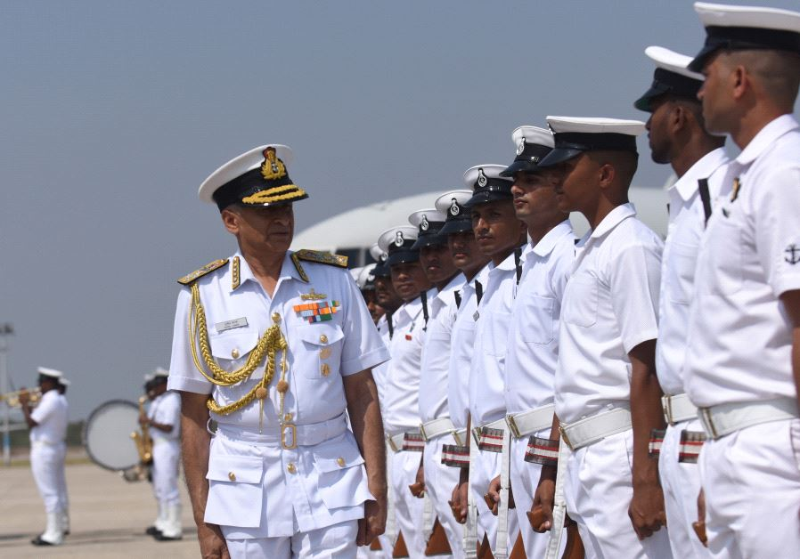 Indian Chief of Naval Staff Admiral Sunil Lanba