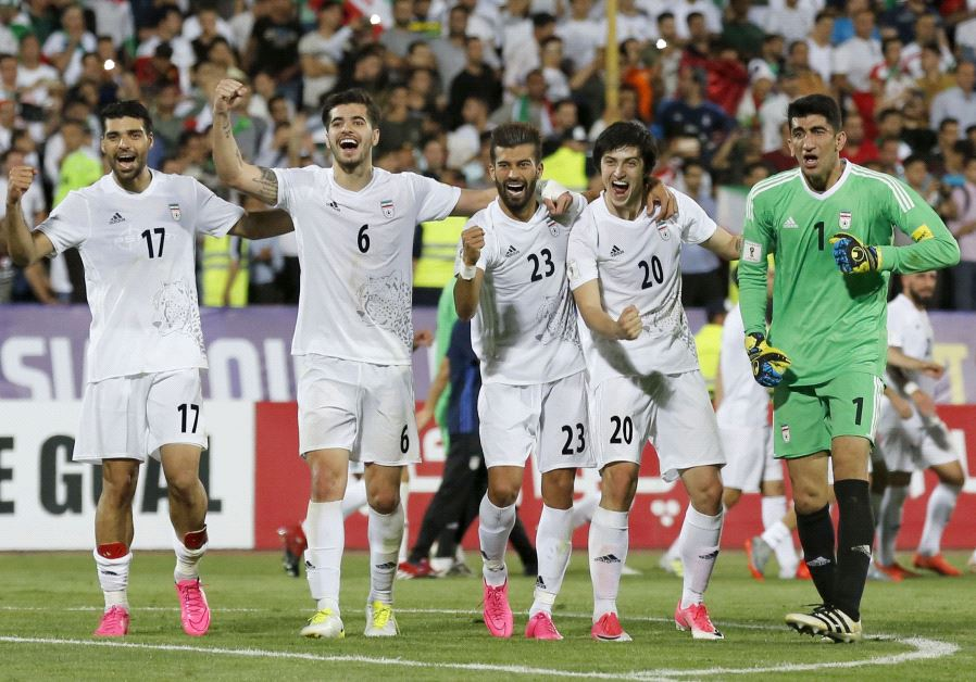 Image result for Iran beat Uzbekistan to book spot in Russia