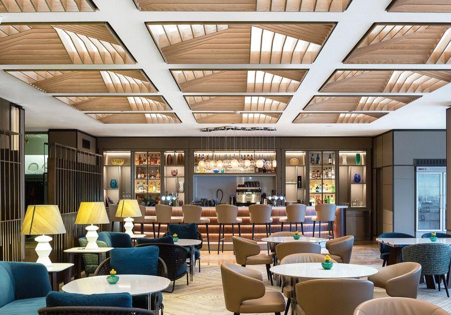 Hilton Lobby Restaurant Israel