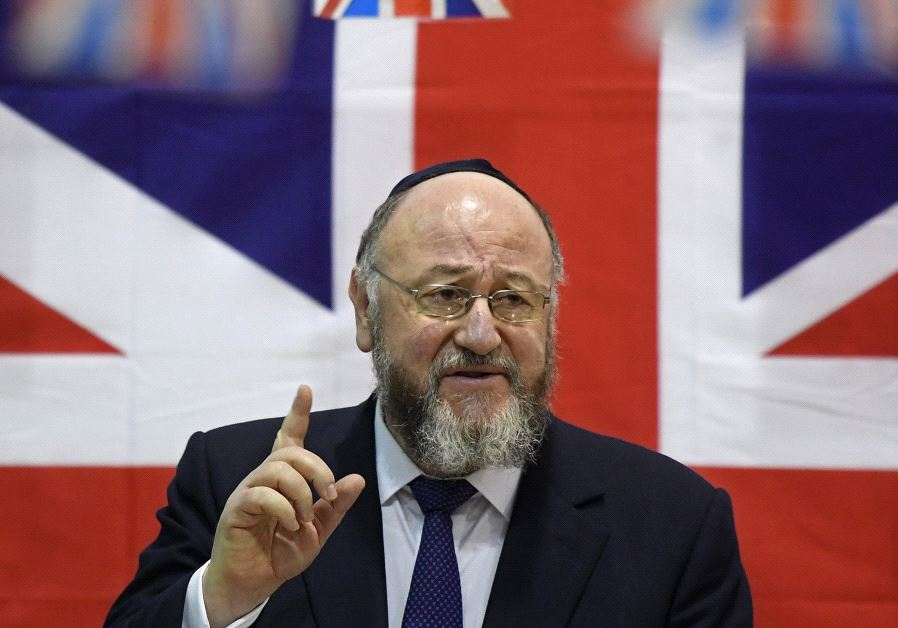 Britain's chief rabbi Ephraim Mirvis