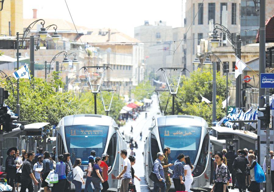 Jerusalem traffic