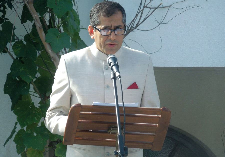 INDIA'S AMBASSADOR to Israel, Pavan Kapoor.