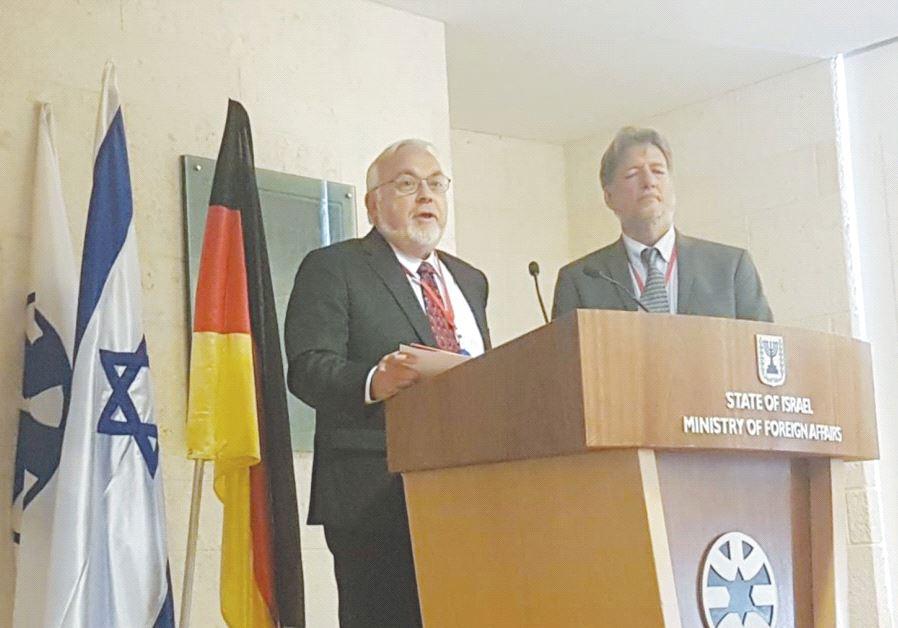 Germany, Israel combat cyber hate speech