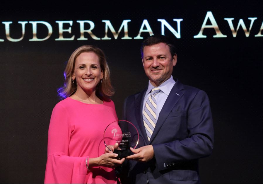 Marlee Matlin honored by The Ruderman Family Foundation