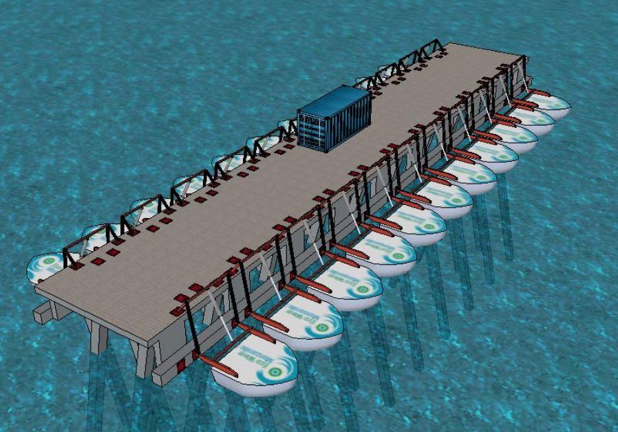 Eco Wave Mexico power plant  illustration