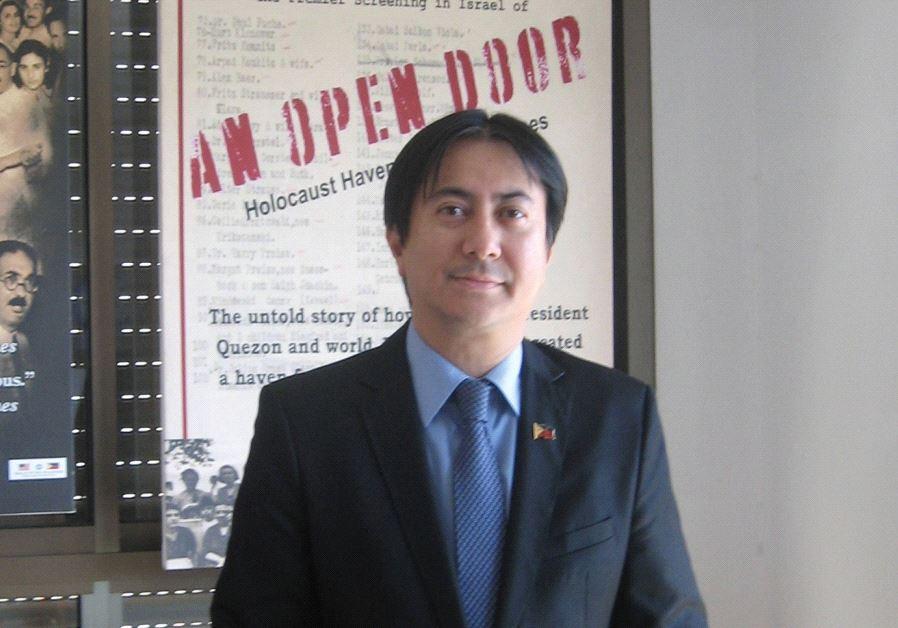 Philippines Ambassador Neal Imperial