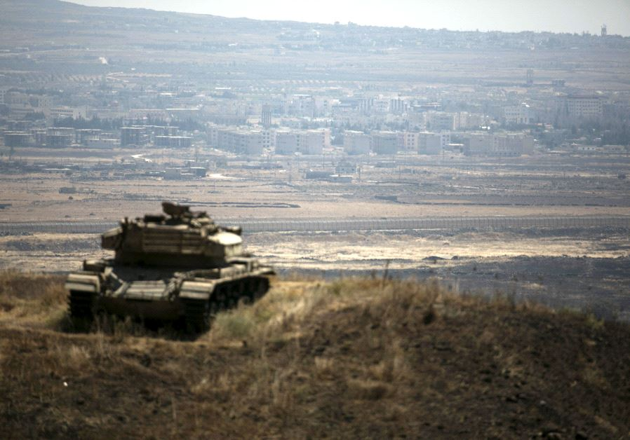 Syria says Israel struck Quneitra, near border with Golan Heights