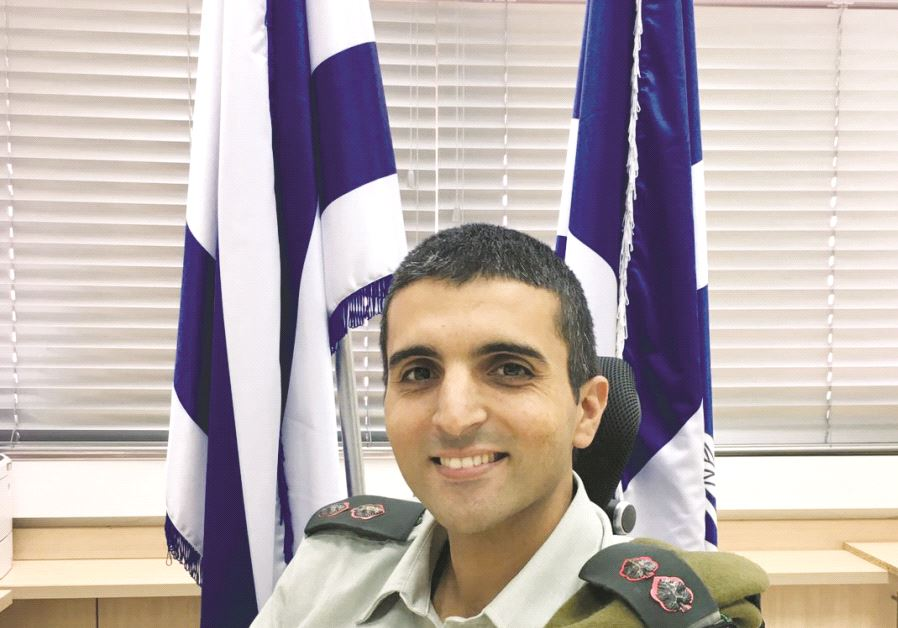 Yaniv Ossi, commandant de l'école militaire d'élite cyber informatique de l'IDF