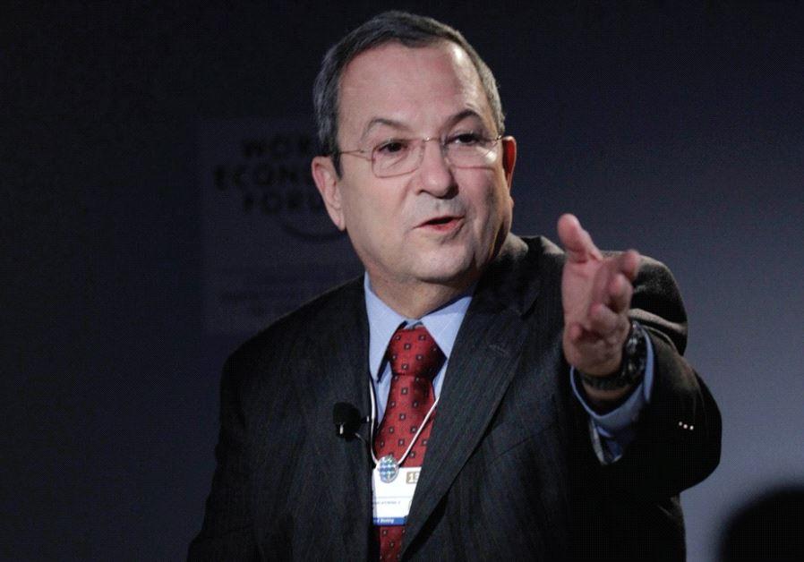 FORMER PRIME MINISTER Ehud Barak in 2013