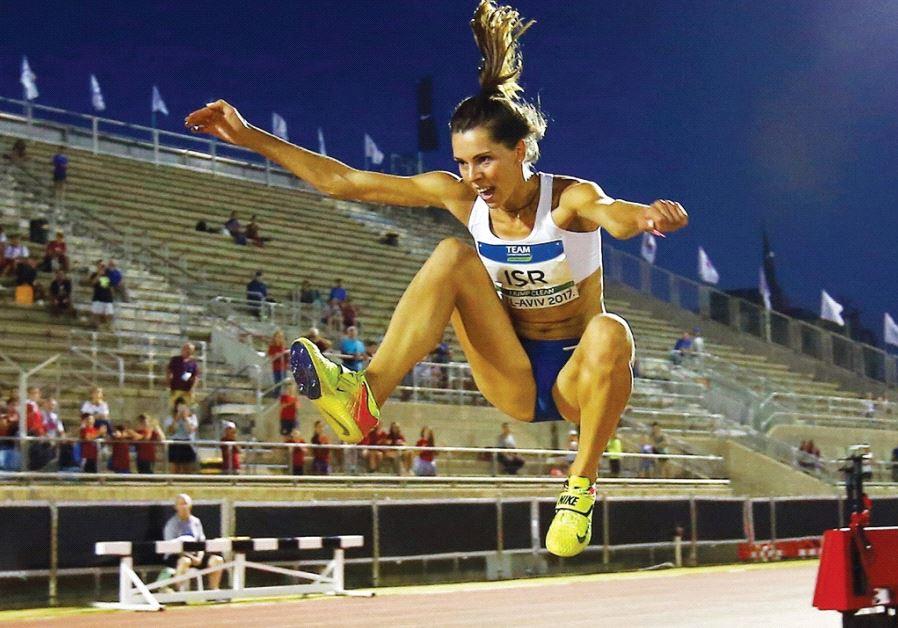 Israeli triple-jumper Hanna Knyazyeva-Minenko won her event in the European Athletics Team Champions