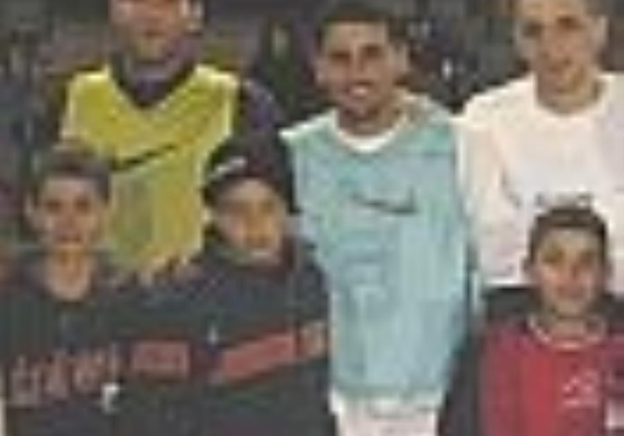 Israel-Palestinian soccer in Barcelona