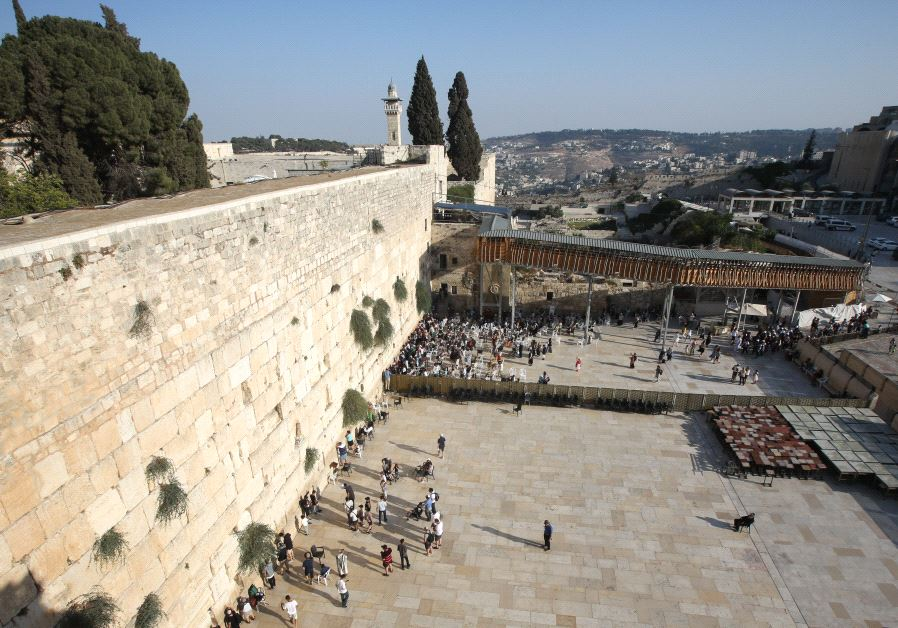 analysis putting the western wall on the itinerary for world
