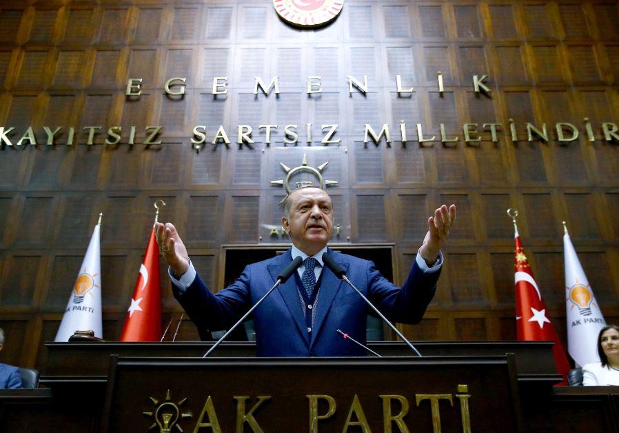 Israel to Erdogan after Jerusalem tirade: Days of Ottoman Empire are