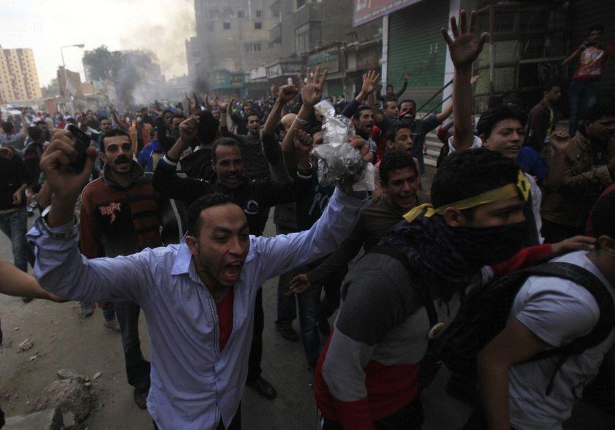 egypt uprising 2013