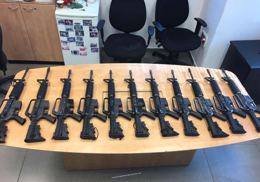 stolen guns israel