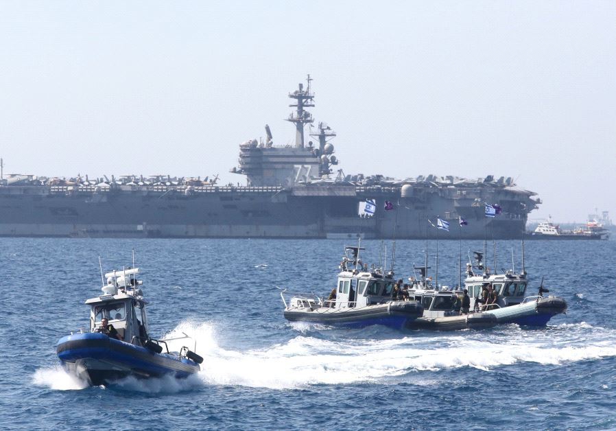 USS George H.W. Bush israel