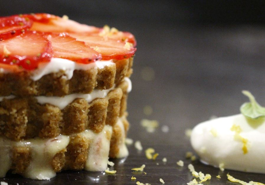 Israeli Chef Alon Lysy Carmel Tart