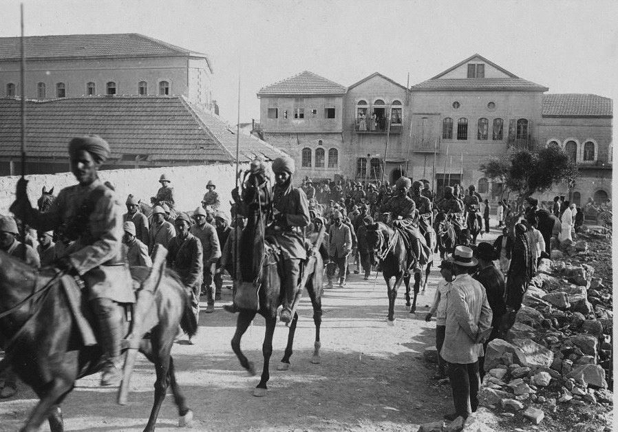battle of jerusalem 1917