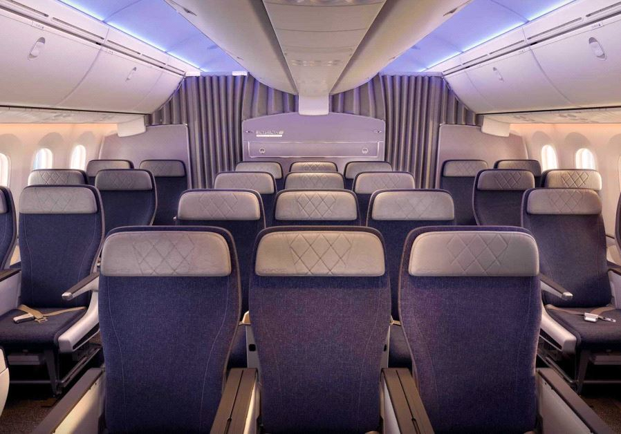 A look inside the new El Al Boeing 787 Dreamliner