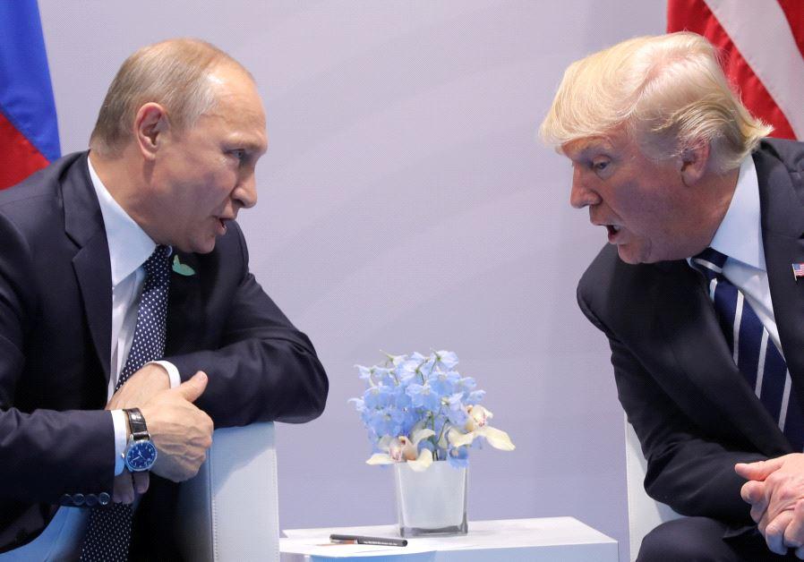 Trump and Putin G20 2017