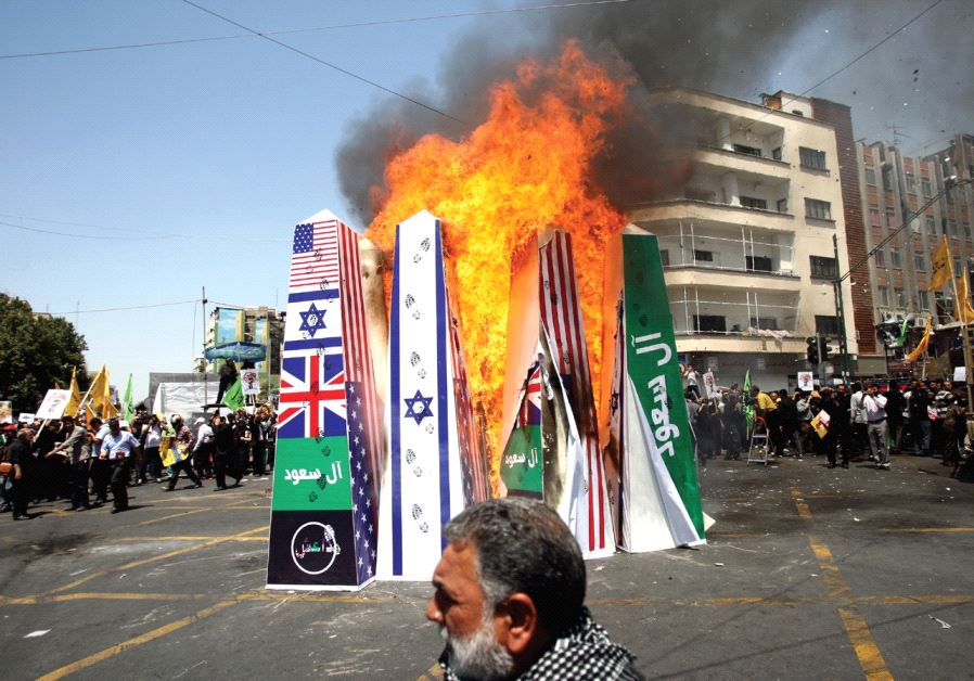 Iranian demonstration