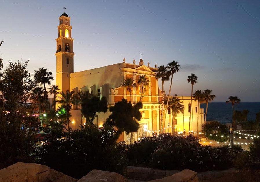 Jaffa st peters church