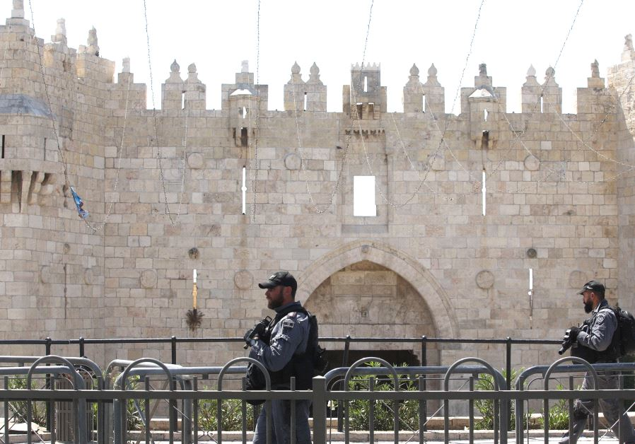 Police at the Temple Mount