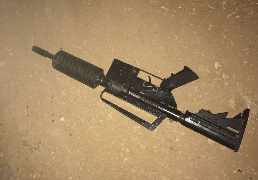 Weapon used to shoot at Israeli Police in Nabi Salih July 16