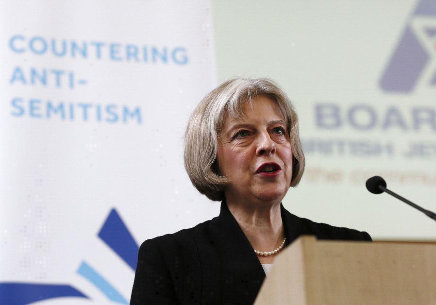 theresa may antisemitism jews england