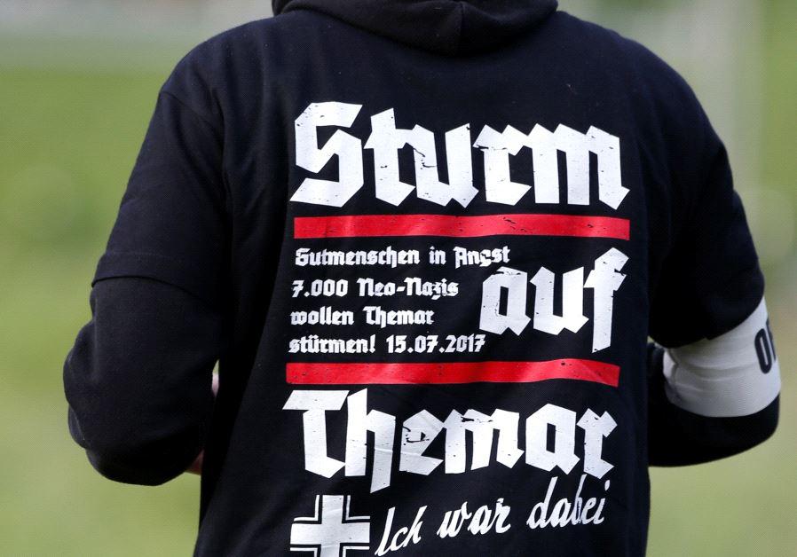 Neo-Nazi concert, Germany, July 2017