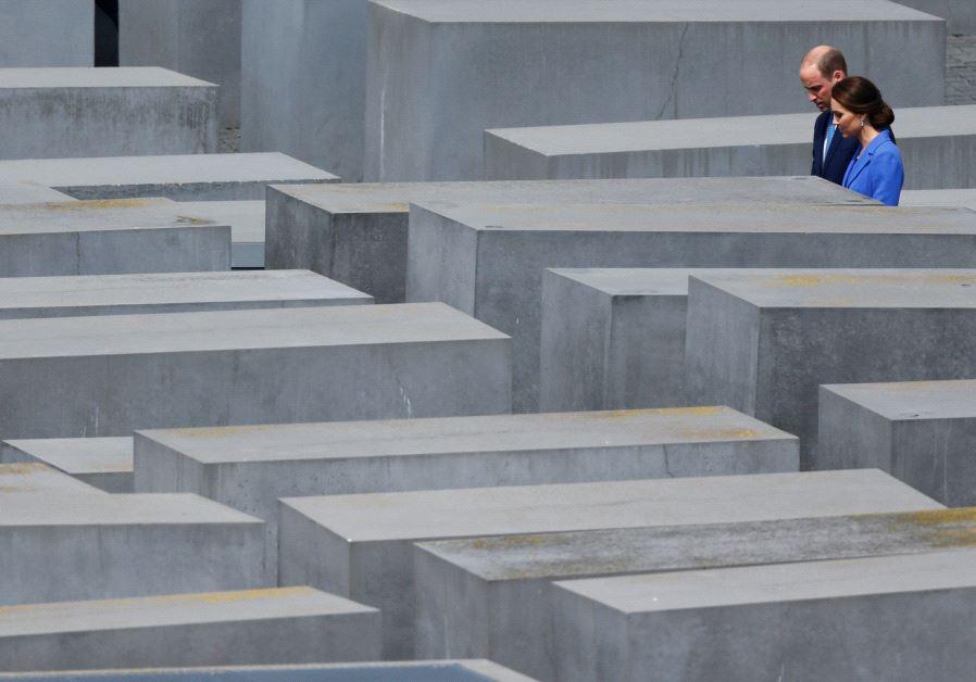 britsh royal holocasut memorial berlin