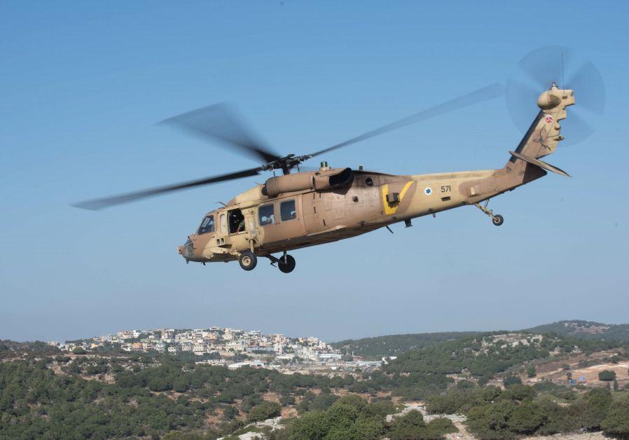 Blackhawk helicopter, July 2017