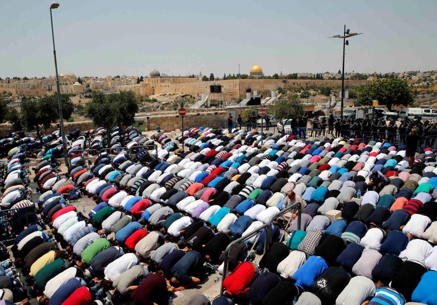 Jew Detector: Security Forces Maintain Vigilance As Jerusalem Prayers