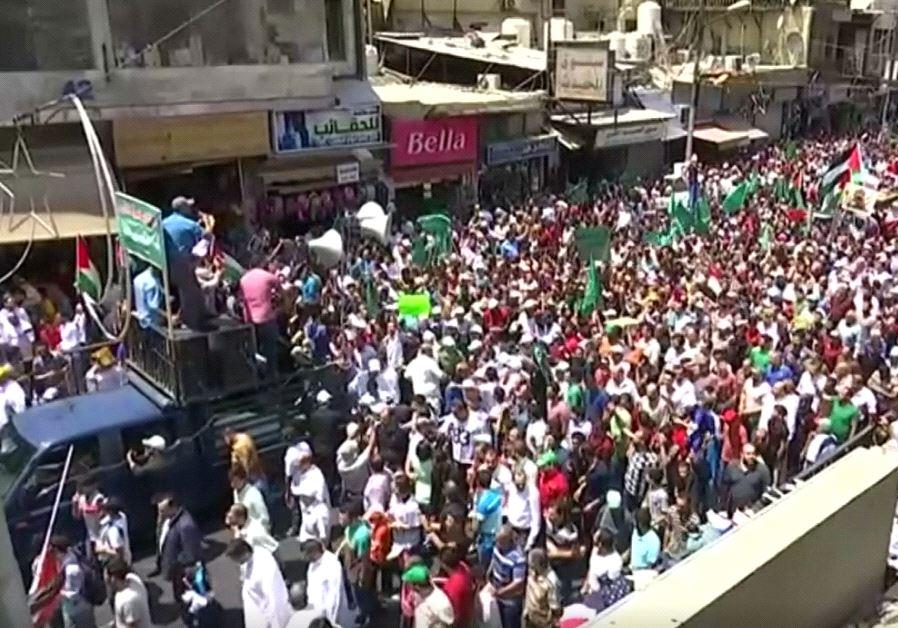 Jordan Temple Mount protest