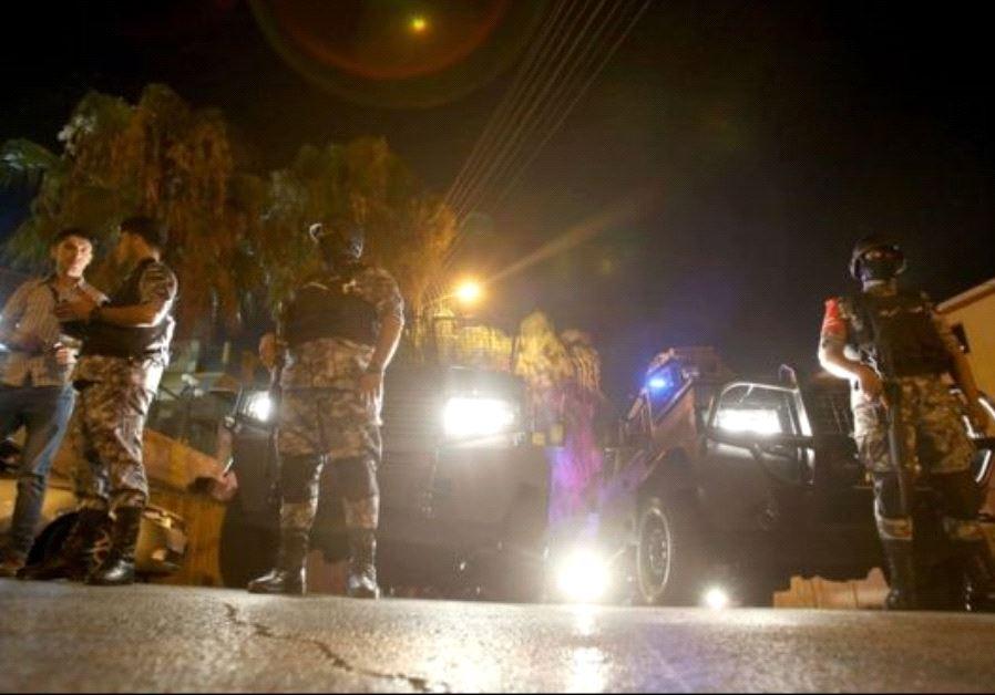 The Israeli embassy in Amman and its surrounding are on lockdown following an attack in which a secu