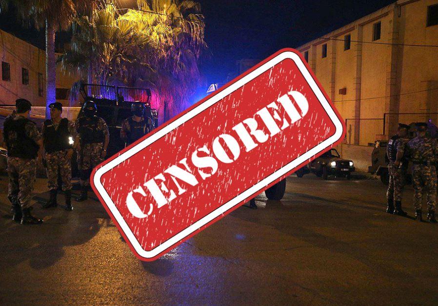 Censor keeps Israelis in the dark as world learns of Jordan embassy saga