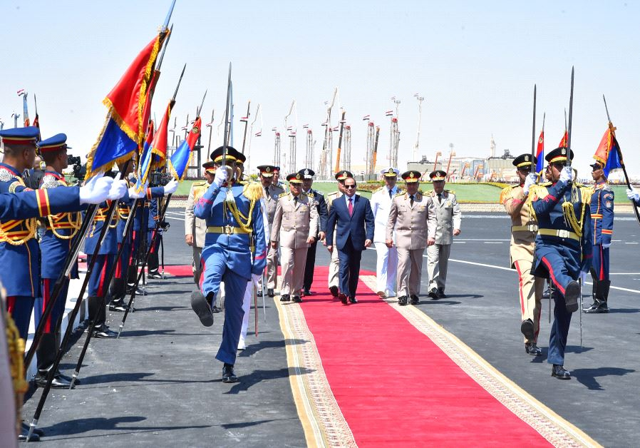Sisi opening new military base